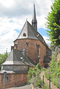 Die Kugelkirche liegt zwischen Kalbstor und Barfertor.