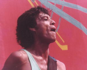 Schon damals eine Legende: Mick Jagger in Aktion.