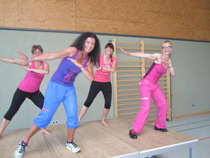 4. Kesseltaler Nordic Walking Event und Zumbaparty