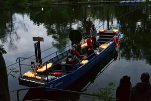 Brunnenfest bei Nacht  Bad Ksen 2012