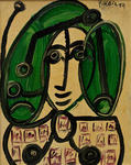 Peter Robert Keil, The Green Lady, 1959 - Keil ArtCollection Marburg