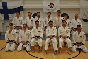 Shorinji Kempo Bobingen zu Gast in Finnland