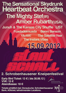 Stadtschall Festival - Line Up komplett