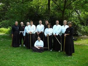 Kyushin Iaido Workshop am Silbersee