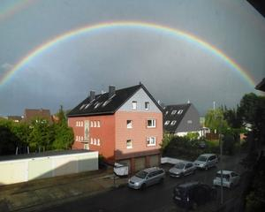 24.06.2012. Regenbogen ber Mllingen.
