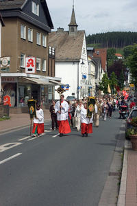 Stadtprozession in Balve am Johannitag 2012