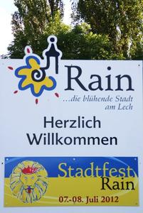 Stadtfest Rain 2012