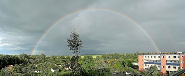 Panoramafoto Regenbogen