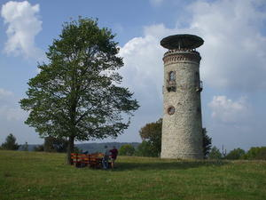 Der Bismarkturm auf dem hohem Stadtberg in Hildburghausen !