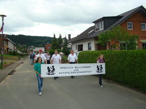 Hatzfelder Kinderfest mit 100 Jahre TSV Hatzfeld am 1.Juli 2012