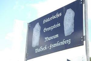 Historische Zeugnisse: Tolles Grenzsteinmuseum ldt ein...