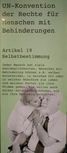 Artikel 19 Selbstbestimmung