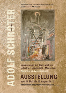 Ausstellung von Bildern Adolf Schrters in Stadtallendorf