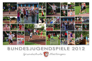Bundesjugendspiele 2012 an der Grundschule Meitingen
