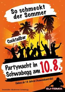Partynacht in Schwabegg mit DJ Tomix