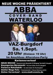 ABBA – Waterloo Cover-Band 01.09.2012 – Burgdorf