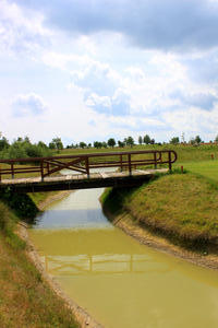 Brcke auf Fehmarn. Wulfener Hals.
