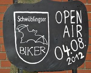 Open Air ' Schwblingser Biker ' am 4. August 2012