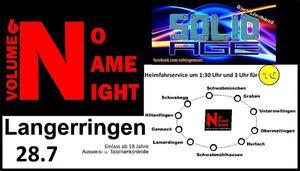 Partytipp aus Langerringen: NoNameNight