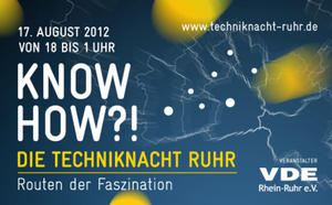 KNOW HOW?! - Die Techniknacht Ruhr