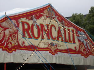 Circus Roncalli Tagebuch: Aufbau Tag 3