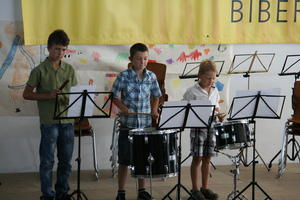Sommerkonzerte 2012 Musikschule Biberbach e.V.