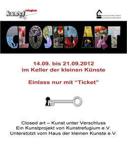Closedart  die Kunstausstellung mit Programm