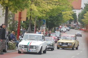 Oldtimer in der Donauwrther Strae
