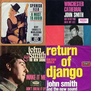 Einige 'John Smith'-Single-Schallplatten 1965 - 1967