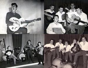 'John Smith' - The 'lone Arranger - Skiffle Band 1956 - Jubilee Skiffle Group 1957 - Jubilee band 1958