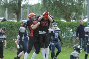 Die Potsdam Royals fegten 30:0 die Berlin Tunderbirds vom eigenen Platz