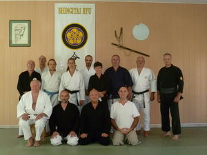 Besuch von Mitgliedern des Bushido Kai in Frankreich