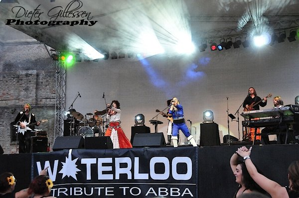 Waterloo`s Tribute to ABBA am 18.August in Augsburg, Freilichtbühne