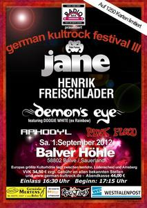 3. German Kultrock Festival