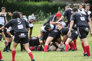 Rugby Saisonauftakt geglckt SG Odin/VfR gewinnt 26 : 0 gegen Exiles Hamburg