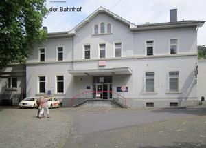 1870 wurde der Bahnhof gebaut