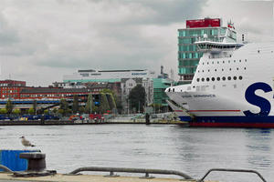 Am Hafen von Kiel