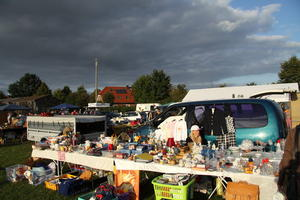 Schwblingsen, 12 Stunden Flohmarkt am 1. Sept. 2012