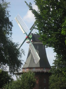 Windmühle in Greetsiel.