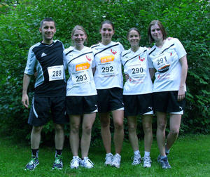 TSV Kirchrode - Frauenmannschaft beim Eilenriede-Straenlauf 2012