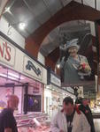 in Cork's English Market grüßt die Queen