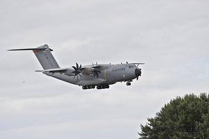 ' Historisches Ereignis ' Landung Airbus A 400 M, Fliegerhorst Wunstorf