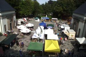 Bunter Markt an der Wandelhalle Bad Wildungen, 16.9.2012, 10h bis 17:30h