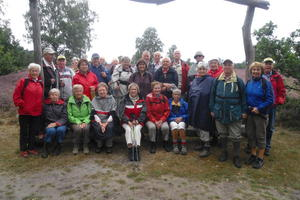 TSV Ingeln-Oesselse / Wanderabteilung / Wanderung in der Heide bei MdenIrtze