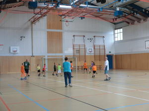 Trainingslager des RSV Nebra