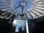 Im Sony-Center am Potsdamer Platz