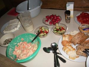 Ferienprogramm 2012 Couchgeflster und griechischer Salat