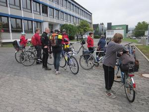 Kinzig-Schule Radtour 7/2012 - ber den Landrcken
