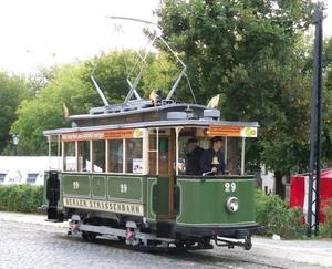 120 Jahre Naumburger Straenbahn Teil 3 - Fahrbetrieb bei der Naumburger Straenbahn am Samstag
