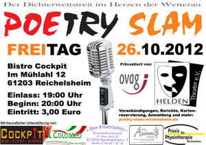 Cockpit Slam Nr. 6 - Poetry Slam Reichelsheim - Fliegende Wrter